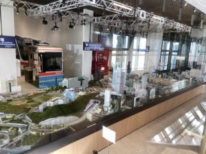 京急ミュージアムのジオラマ