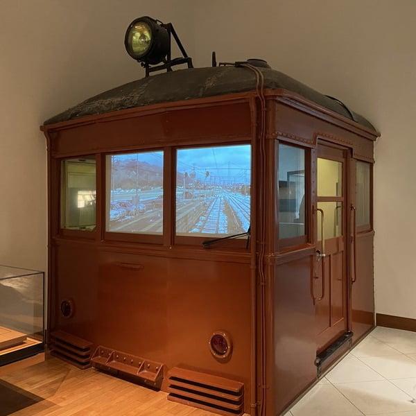 古代出雲歴史博物館の一畑電車