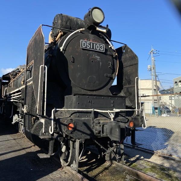 蒸気機関車 D51 103号機