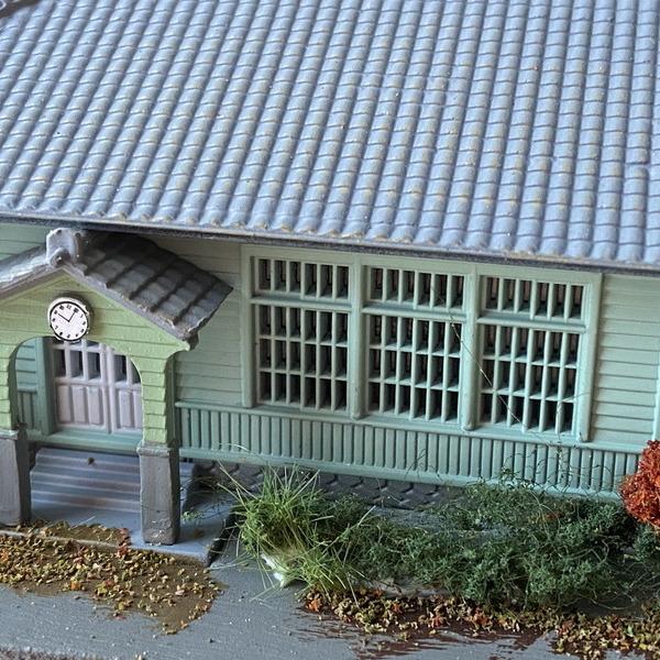 鉄道模型ストラクチャーの置き型モジュール製作