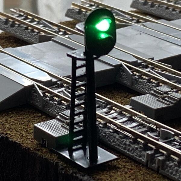簡易「信号機」設置工事