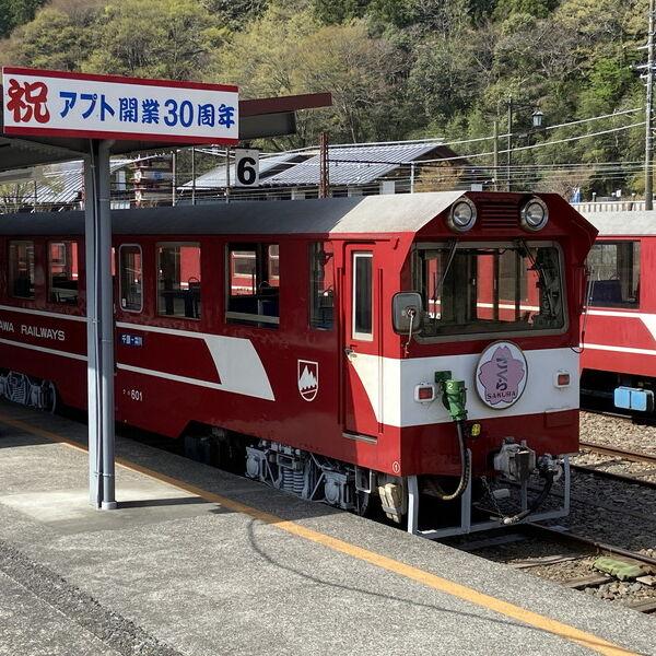 アプト式「井川線」大井川鉄道